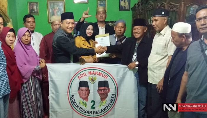 Konsolidasi Rumah Besar Prabowo-Sandi di Lampung Tengah (Foto Hans untuk NUSANTARANEWS.CO)
