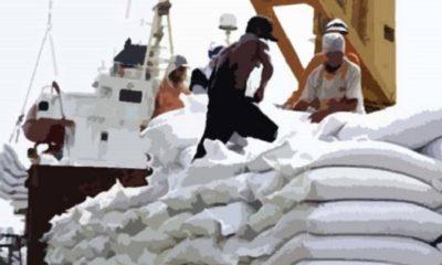 Kegiatan Bongkar Muat Impor Gula. (Foto: Ist)
