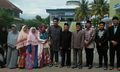Masih di Ponorogo, Ifan Seventeen Sambangi Pondok Gontor, nusantaranewsco