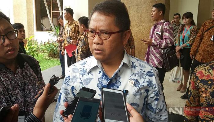 Menteri Komunikasi dan Informatika Rudiantara. (Foto Restu Fadilah/NUSANTARANEWS.CO)