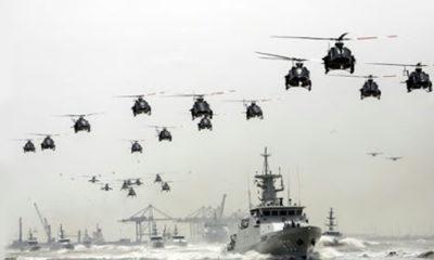 Pertunjukkan Alutsista TNI pada HUT TNI. (FOTO: Istimewa)