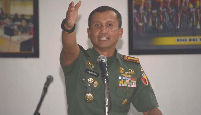 Danrem 084 Bhaskara Jaya, Kolonel Inf Sudaryanto. (Foto: Istimewa)