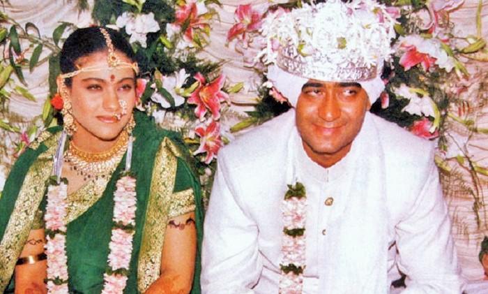Potret Perninakahan Kahol dan Ajay Devgan. (FOTO: Dok. celebscocktail.com)