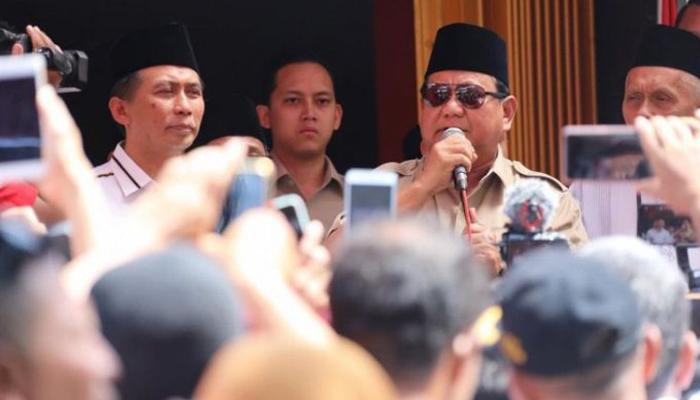 Prabowo Subianto Bersama BPN 02 (Foto Dok. Tim Media BPN 02)