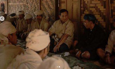 Prabowo Subianto Melakukan Diskusi Dengan Masyarakat Baduy Dalam (Foto IG Prabowo)