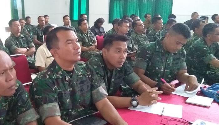 Program Kerja 2019, Korem Baladhika Jaya Bahas Strategi Pencapaian Sasaran