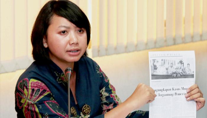 Kepala Bidang Advokasi Kontras Putri Kanesia. (FOTO: Istimewa)