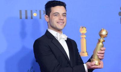 Rami Malek - Aktor Terbaik Golden Globes 2019. (FOTO: Mid-Day)