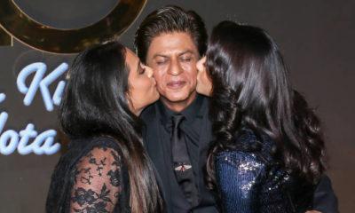 Rani Mukherjee - Shah Rukh Khan - Kajol Devgan pada acara 20 tahun film Kuch Kuch Hota Hai. (FOTO: BCCL)