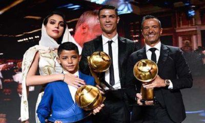 Ronaldo Menangi Globe Soccer Award dan Pemilik Follower Instagram Terbanyak di Dunia