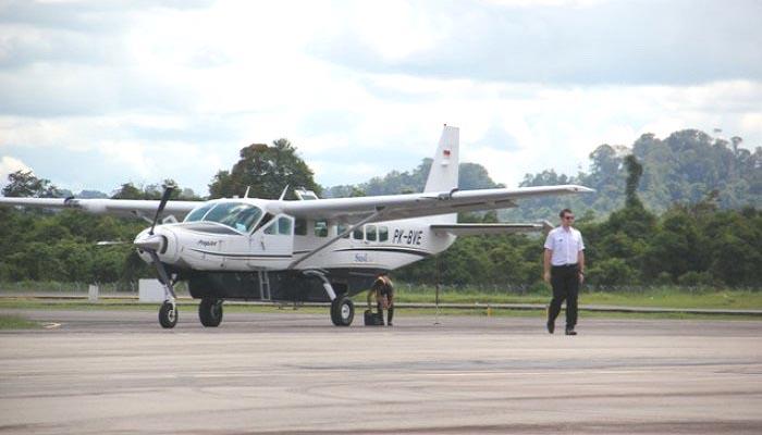 Bandara Tanjung Harapan, Tanjung Selor, Bulungan, Kalimantan Utara.