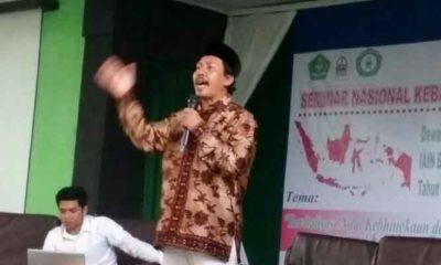 Ketua Kaderisasi Pimpinan Pusat GP Ansor Ruchman Basori. (FOTO: NUSANTARANEWS.CO)