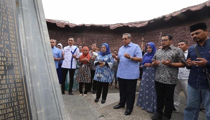 SBY Nostalgia 10 Tahun Rekonstruksi Pasca Tsunami Aceh