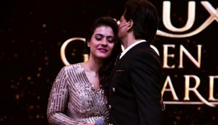 Shah Rukh Khan dan Kajol - Lux Golden Rose Awards 2018. (FOTO: pinkvilla.com)