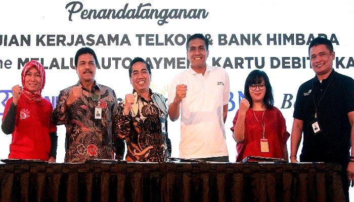 himbara, telkom, himpunan bank negara, langganan indihome, sinergi bumn, masyarakat digital, digital indonesia, telkom indonesia, nusantaranews