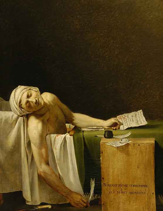 The Death of Marat. (LFOTO: Dok. Pixabay)