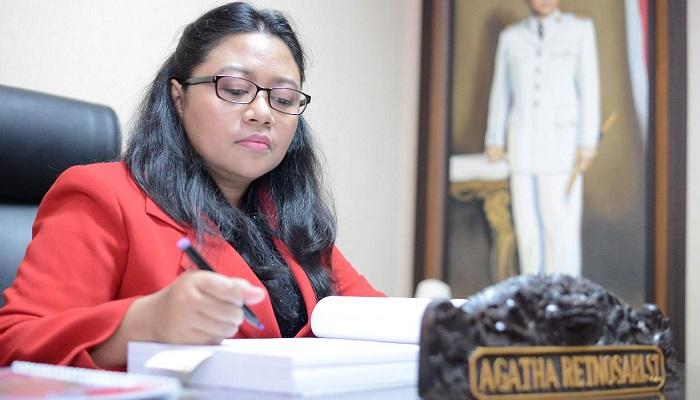 Anggota Komisi E DPRD Jatim Agatha. (Foto: Setya N/NUSANTARANEWS.CO)