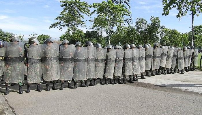 Armed 12 Kostrad bakal kawal Pemilu di Ngawi. (Foto: Istimewa)