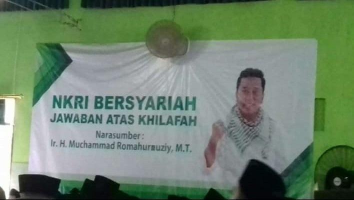 Ketum PPP Romahurmuziy jadi pembicara dalam kegiatan pembinaan ASN di Kabupaten Sragen, Jawa Tengah pada 10 Februari 2019. (Foto: Dok. KPK Jateng)