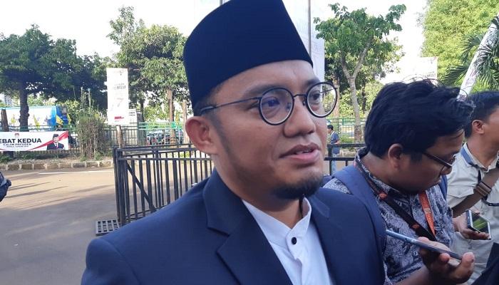Koordinator Juru Bicara Badan Pemenangan Nasional (BPN) Prabowo Subianto-Sandiaga Uno, Dahnil Anzar Simanjuntak. (Foto: Romandhon/NUSANTARANEWS.CO)