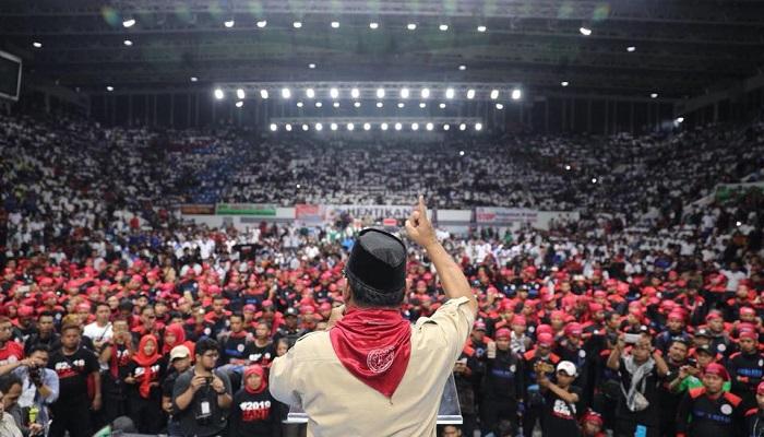 Deklarasi Buruh mendukung Prabowo, 1 Mei 2018