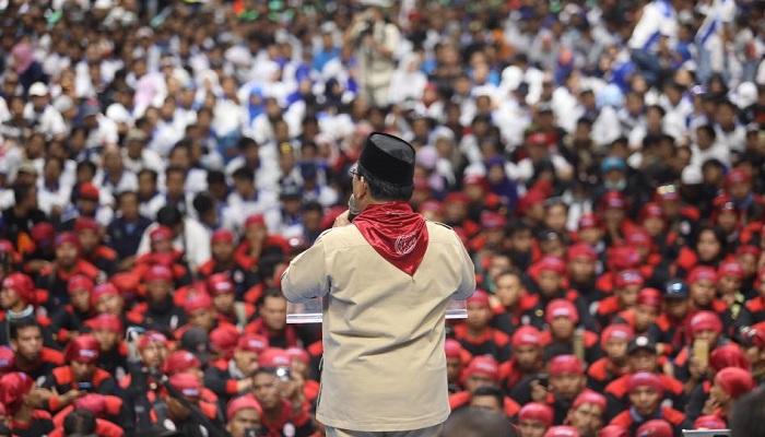 Deklarasi Buruh mendukung Prabowo, Mei 2018