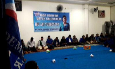 demokrat surabaya, ani yudhoyono, doa bersama, kesembuhan ani yudhoyono, nusantaranews, nusantara news