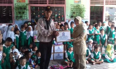 Relawan Ibas keliling Dapil Jatim VII, yang merupakan daerah pemilihan Edhie Baskoro Yudhoyono (EBY), Selasa (26/2/2019). (Foto: Muh Nurcholis/NUSANTARANEWS.CO)