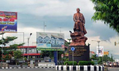 Patung Jenderal Soedirman di Purbalingga. (FOTO: Istimewa)
