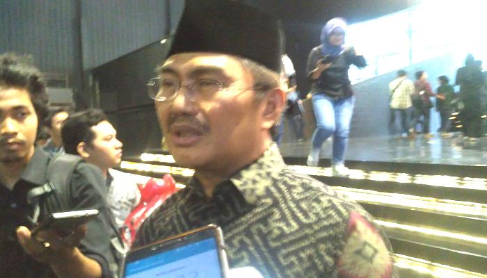 Ketua Umum Ikatan Cendekiawan Muslim Indonesia (ICMI) Jimly Asshiddiqie. (Foto: Romandhon/NUSANTARANEWS.CO)