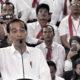 Presiden Joko Widodo berpidato di GOR JAtidiri, Kota Semarang, Jawa Tengah, Minggu (3/2/2019). (Foto: Muh Nurcholis/NUSANTARANEWS.CO)