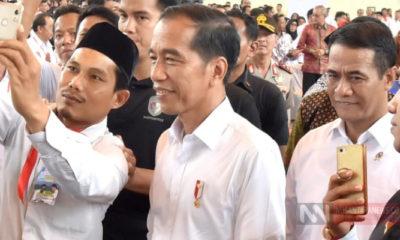 Presiden Jokowi atau Joko Widodo (Foto: Setya/NUSANTARANEWS.CO)