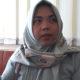 Yuliani, istri Moh Anwar, korban pembunuhan tiga tahun yang lalu mendatangi Mapolres Sumenep, Madura, Jawa Timur, Rabu (13/2/2019). (Foto: M Mahdi/NUSANTARANEWS.CO)