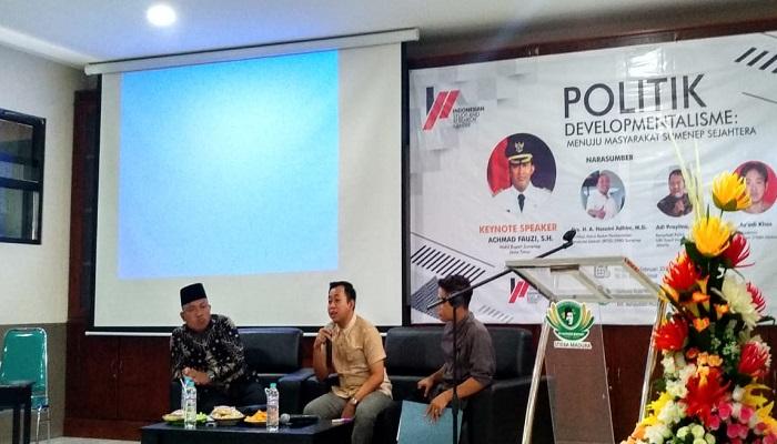 Peresmian lembaga penelitian milenial bernama Indonesian Study and Research Center (ISRC) di Kabupaten Sumenep. (Foto: Istimewa)