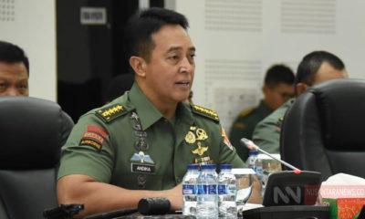 Kepala Staf Angkatan Darat (Kasad) Jenderal TNI Andika Perkasa (Foto Dispenad Untuk NUSANTARANEWS.CO)