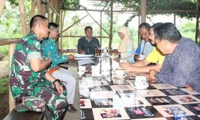 Komunikasi Sosial dengan Diskusi koordinasi tentang Rencana pengembangan desa Wisata, pertanian dan peternakan khususnya di wilayah Kabupaten Nganjuk tahun 2019. (FOTO: NUSANTARANEWS.CO)
