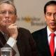 Konsultan Asing Stanley Greenberg dan Presiden Jokowi (Ilustrasi NUSANTARANEWS.CO)