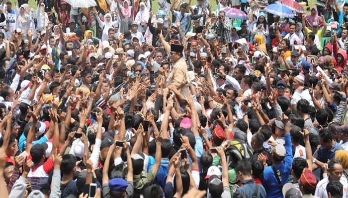 Kunjungan Prabowo ke sejumlah wilayah di Purbalingga