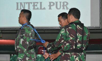 Latihan Perorangan Dasar (Latorsar) Teritorial Tahun 2019 di Kodim Madiun. (FOTO: NUSANTARANEWS.CO/mc0803)