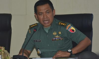 Kasrem 081/DSJ Letkol Inf Agus Faridianto. (FOTO: NUSANTARANEWS.CO/Pen81)