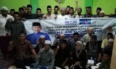 Masyarawat Ponorogo doakan kesembuhan Ani Yudhoyono. (FOTO: NUSANTARANEWS.CO/Muh Nurcholis)
