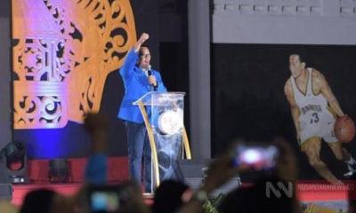 Menpora Imam Nahrawi Saat Hadiri Acara Muspimnas PMII di Surakarta, Jawa Tengah (Foto David untuk NUSANTARANEWS.CO)
