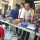 Unit Jatanras Polrestabes Surabaya meringkus pelaku curas yang meresahkan masyarakat, Rabu (6/2/2019). (Foto: Setya N/NUSANTARANEWS.CO)