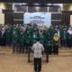 Pelantikan pengurus Lembaga Kemahasiswaan (LKM) Fakultas Adab dan Ilmu Budaya UIN Sunan Kalijaga Yogyakarta. (FOTO: NUSANTARANEWS.CO/Anna)