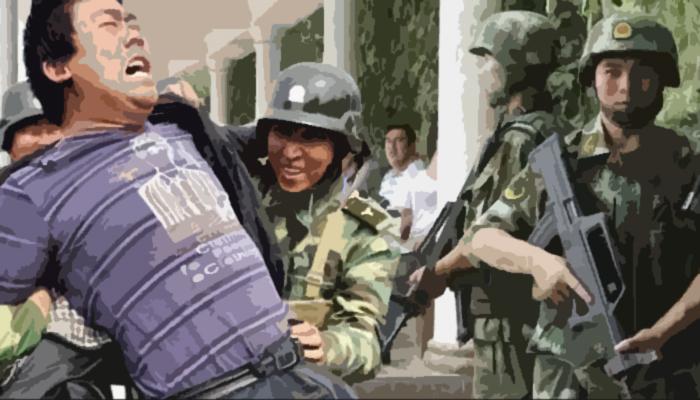 Penagkapan warga suku uighur