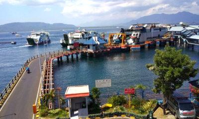 Pelabuhan Ketapang, Banyuwangi, Jawa Timur.