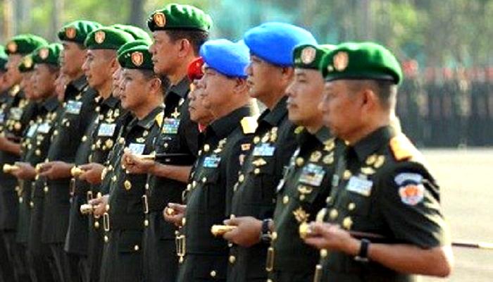 Perwira Tinggi TNI. (Foto: Jurnal Jakarta)