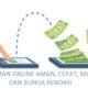 Pinjaman Online Aman. (ILUSTRASI/Istimewa)