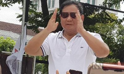 Prabowo Subianto Saat Menyapa Para Peserta Jalan Aksi (Foto Istimewa Untuk NUSANTARANEWS.CO)
