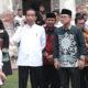Presiden Joko Widodo saat mengunjungi Benteng Pendem Van Den Bosch yang terletak di Kelurahan Pelem, Kecamatan Ngawi, Kabupaten Ngawi, Sabtu (1/2/2019). (Foto: Dok. NUSANTARANEWS.CO)